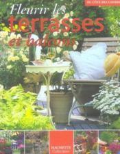 Fleurir les terrasses et balcons - Couverture - Format classique