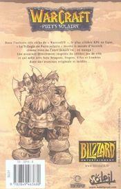Warcraft T.1 ; La Chasse Au Dragon - 4ème de couverture - Format classique