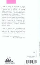 Malabar connection - 4ème de couverture - Format classique