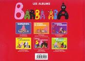BARBAPAPA ; l'école de Barbapapa - 4ème de couverture - Format classique