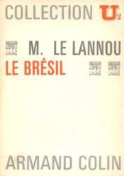 Le brésil - Couverture - Format classique