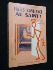 Faites confiance au Saint ! - Couverture - Format classique