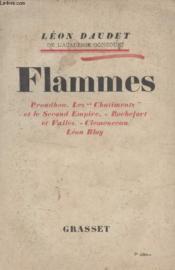 Flammes. - Couverture - Format classique