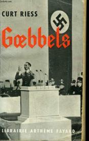 Goebbels. - Couverture - Format classique