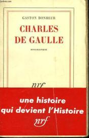 Charles De Gaulle. - Couverture - Format classique