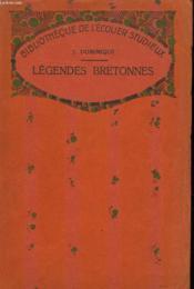 Legendes Bretonnes - Couverture - Format classique