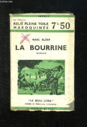 La Bourrine. - Couverture - Format classique