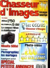 CHASSEUR D'IMAGES , le magazine de l'amateur et du débutant N° 161 - DPI, IMAGE NUMERIQUE - MINOLTA 500SI - PRATIQUE: PHOTOGRAPHIEZ LES MARIAGES... - Couverture - Format classique