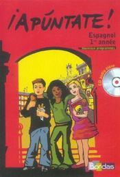 APUNTATE ; espagnol ; 1re (édition 2006) - Intérieur - Format classique