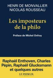 Les imposteurs de la philo - Couverture - Format classique