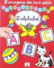 L'alphabet ; autocollants - Intérieur - Format classique