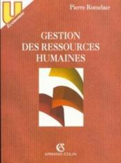 Gestion Ressources Humaines - Couverture - Format classique