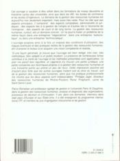 Gestion Ressources Humaines - 4ème de couverture - Format classique