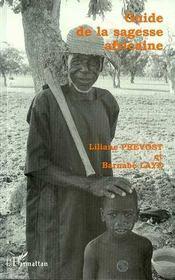 Guide de la sagesse africaine - Intérieur - Format classique