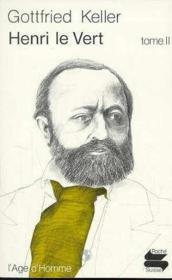 Henri Le Vert Tome 2 - Couverture - Format classique