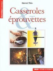 Casseroles et eprouvettes - Intérieur - Format classique