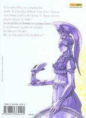 Saint seiya g t.3 - 4ème de couverture - Format classique