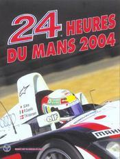 24 heures du mans 2004 - Intérieur - Format classique
