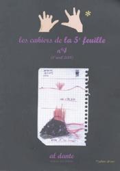 Les cahier de la 5e feuille t.4 - Couverture - Format classique