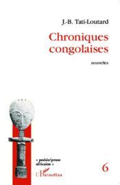Chroniques Congolaises - Couverture - Format classique