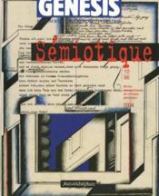 GENESIS N.10 ; sémiotique - Couverture - Format classique