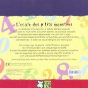Apprends-Moi Les Chiffres - 4ème de couverture - Format classique
