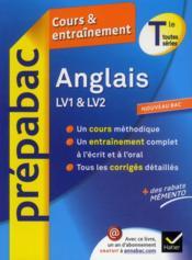 Prépabac cours & entraînement ; anglais ; terminale - Couverture - Format classique