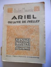 Ariel ou la vie de shelley - Couverture - Format classique