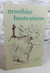 Mouthier Haute-Pierre. Eglise Saint-Laurent XIV° et XVI°. - Couverture - Format classique