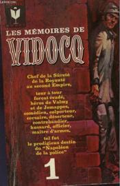 Les Memoires De Vidocq - Tome I - Couverture - Format classique