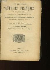 LES MEILLEURS AUTEURS FRANCAIS DU XVIe AU XIXe SIECLE - Couverture - Format classique