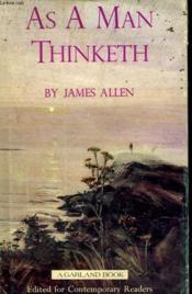 As A Man Thinketh - Couverture - Format classique