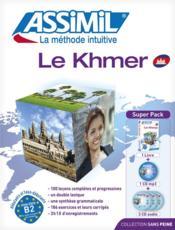 Le khmer ; débutants et faux-débutants B2 - Couverture - Format classique