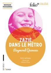 Zazie dans le métro - Couverture - Format classique