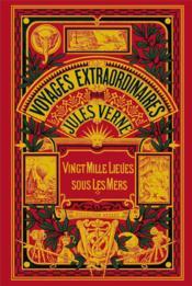Voyages extraordinaires par Jules Verne ; vingt mille lieues sous les mers - Couverture - Format classique