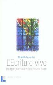 L'ecriture vive - Intérieur - Format classique