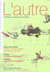 Revue L'Autre N.17-2 ; Cliniques Du Corps - Intérieur - Format classique