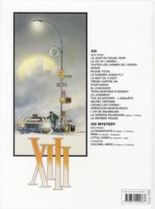 XIII T.9 ; pour Maria - 4ème de couverture - Format classique