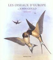 Oiseaux d'Europe de John Gould - Intérieur - Format classique