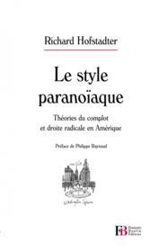 Le style paranoïaque - Couverture - Format classique