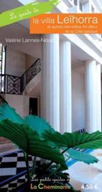 Le guide de la villa Leihorra - Couverture - Format classique