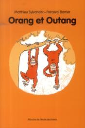 Orang et Outang - Couverture - Format classique