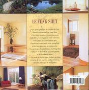 Le Feng Shui - 4ème de couverture - Format classique