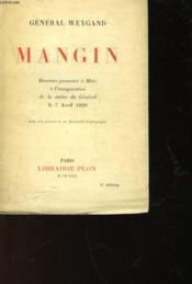 Mangin - Couverture - Format classique