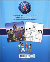 Paris Saint-Germain Academy ; l'album de coloriages ! - 4ème de couverture - Format classique
