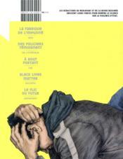 La revue dessinée HORS-SERIE ; ne parlez pas de violences policières - 4ème de couverture - Format classique