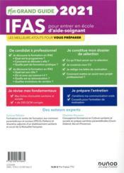 Je prépare ; mon grand guide IFAS pour entrer en école d'aide-soignant ; nouvelle procédure, constitution du dossier, entretien de motivation (édition 2021) - 4ème de couverture - Format classique