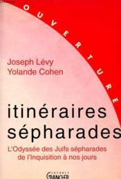 Itineraires sepharades - Couverture - Format classique