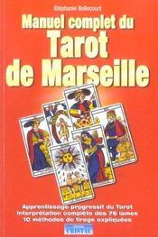 Manuel complet du tarot de marseille - Intérieur - Format classique