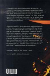 Miles ; l'autobiographie - 4ème de couverture - Format classique